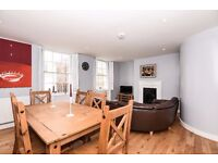 Fulham Road SW10. A recently redecorated spit level apartment to rent.
