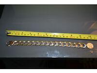 Gold hevy bracelet