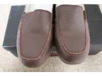 Ladies flat shoes size 6, slip on shoes 39