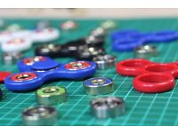 Fidget Spinners - High Quality, Multiple Colours, Stress-Relief, Focus Toy (Deliver Only)