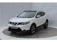 Nissan Qashqai N-TEC PLUS DIG-T (white) 2015-01-09