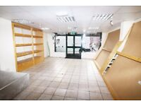 Spacious Commercial Unit for rent in Ever popular bury park Area