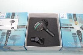 AKG - D112 professional dynamic bass drum microphone x3