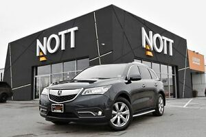 2016 Acura MDX Elite Package | Nav., Back up Cam, Moonroof, Blu-
