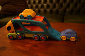 ELC Track Trailer with 2 cars