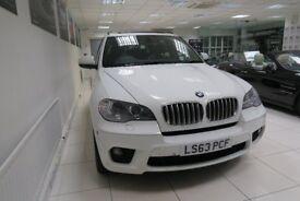 BMW X5 3.0 40d M Sport xDrive 5dr (start/stop) Auto (white) 2013