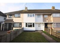 THREE BEDROOM TERRACED HOUSE IN SUNBURY near to shepperton ashford staines chertsey upper halliford