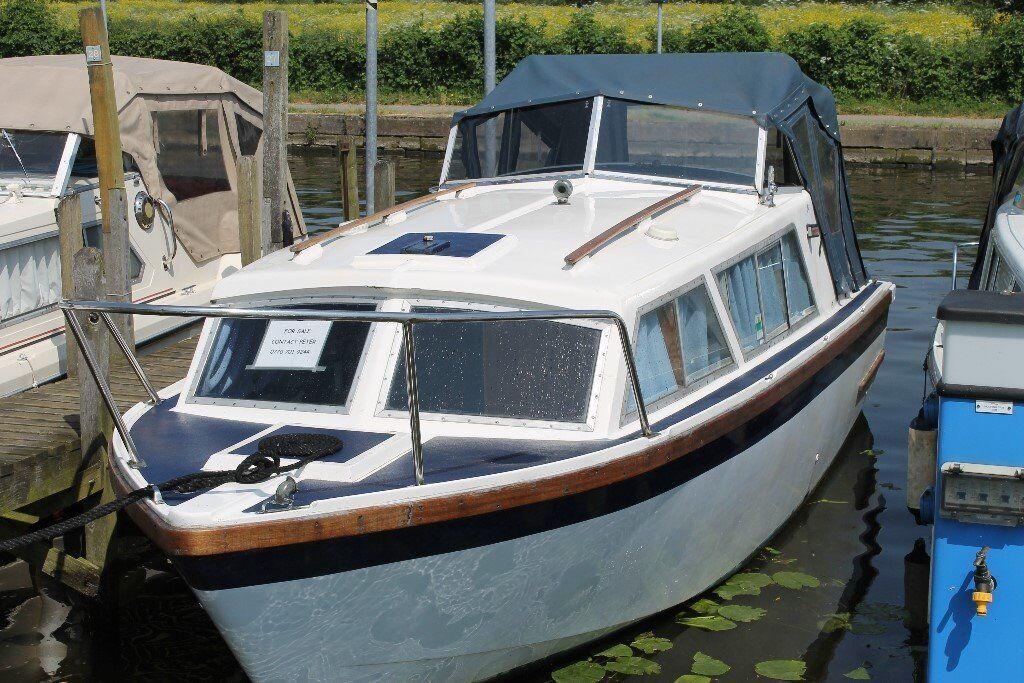 24 Feet Long Boat Shelter : Boat ft eastwood cabin cruiser in long eaton