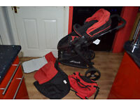 Hauck colt 3in1 travel system and puschair