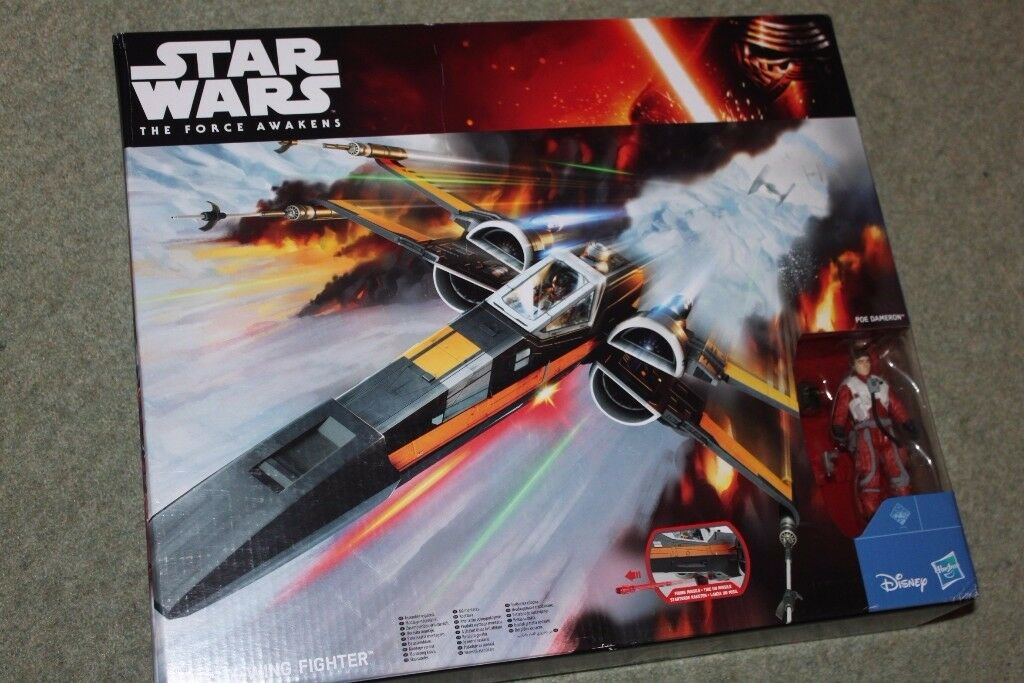 Star Wars Episode Vii Poe S X Wing Fighter Special