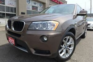 2013 BMW X3 xDrive28i, Navigation, Pano Roof