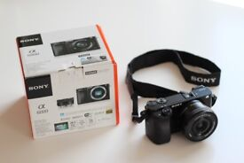Sony a6000 with 16-50mm bundle lens