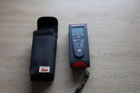 Leica laser distance measurer.