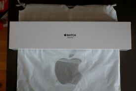 Apple Watch 38mm Series 3 in Gold Aluminium with rose strap (Brand New in sealed box)