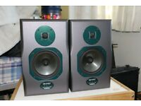Soundcraft Spirit Absolute 4p Active Studio Monitors -great condition - demo possible