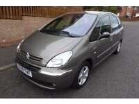 CITROEN XSARA PICASSO 1.6 DESIRE ** 09 PLATE **ONLY 49,000 MILES ** ONE OWNER