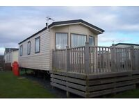 Willerby Solara 26x10x2 located on the Ayrshire Coast, seconds from the Beach