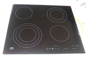 New - Black Ceramic Glass Cooking Hob - AEG - £175