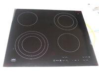 New - Black Ceramic Glass Cooking Hob - AEG - £175