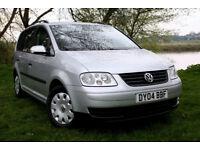 2004 Volkswagen Touran 1.9 TDI S 5dr Diesel Manual,109293mi, cambelt done 91000mi, drives excellent!