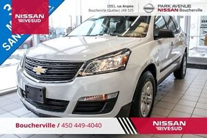 2016 Chevrolet Traverse LS, AWD, 7 PASSAGERS, CAM RECUL