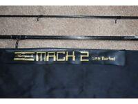 Shakespeare Mach 2 Barbel rod.