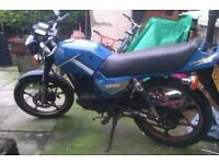 suzuki gs125 learner legal long mot