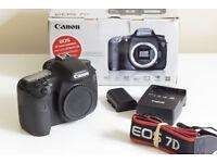 Canon 7D Mark 1 DSLR Camera Body