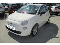 Fiat 500 POP (white) 2013-03-22