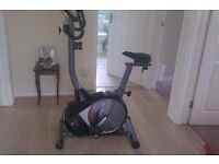 Nearly new Exercise Bike, V-fit, only used 3 times was new in February this year.