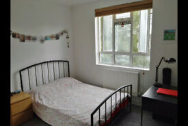 Double bedroom in a shared flat, Bethnal Green, E2