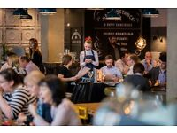 Full time and part time Waiter/ waitress position in St Pauls - Happenstance - Start immediate