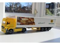Morrisons Articulated Truck Lorry - Model Toy - Bread - We'll Rise To It!