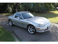 Mazda MX5 1.8iS Silver 6 Speed (with Matching Hardtop)