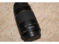 Canon - Zoom in lens Ef 75-300mm/ 1:4-5.6