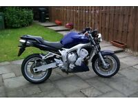 yamaha fz6 (fazer) low mileage at 17,315, 05 reg very good condition,hpi clear,offers at 1,550 swaps
