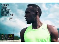 Join Usain Bolt's sales team with Enertor sports insoles