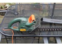 Black and decker electric hedge trimmer/cutter
