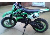 50cc mini moto dirt bike off road pit bike scrambler