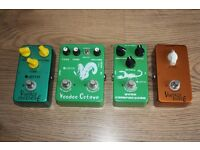 collection of Joyo pedals