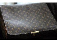 Classic Monogrammed Louis Vuitton messenger bag