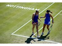 2x tickets to Nottingham tennis centre- open