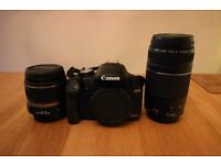 Canon EOS 500D Body + Two Lenses