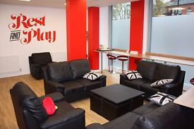 Student accommodation for rent with en suite bedroom and double bed. June- August. £198 per week