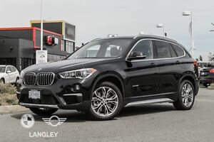2017 BMW X1 xDrive28i Premium Package Essential with ZDV!