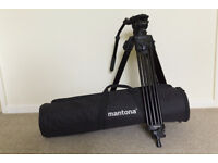 Mantona Dolomit 1100 Video Tripod With Fluid Head