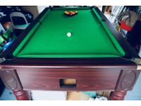 Used Full Size Pool Table - Original DPT Monarch Table with a Slate Bed