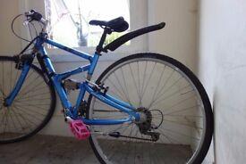 Giant X9000 Cross Series Hybrid Full Suspension 17.5 inch Frame Bike Serviced