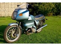 BMW R100RS with Extras.