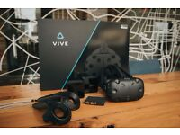 HTC Vive (Virtual Reality Headset)